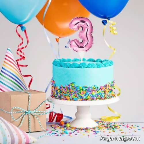 تزئین جالب کیک تولد