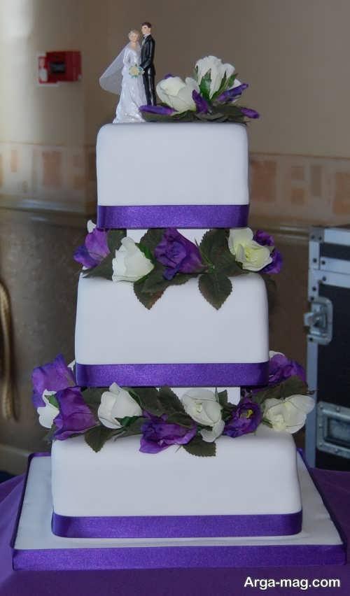 تزئین کیک با خمیر فوندانت