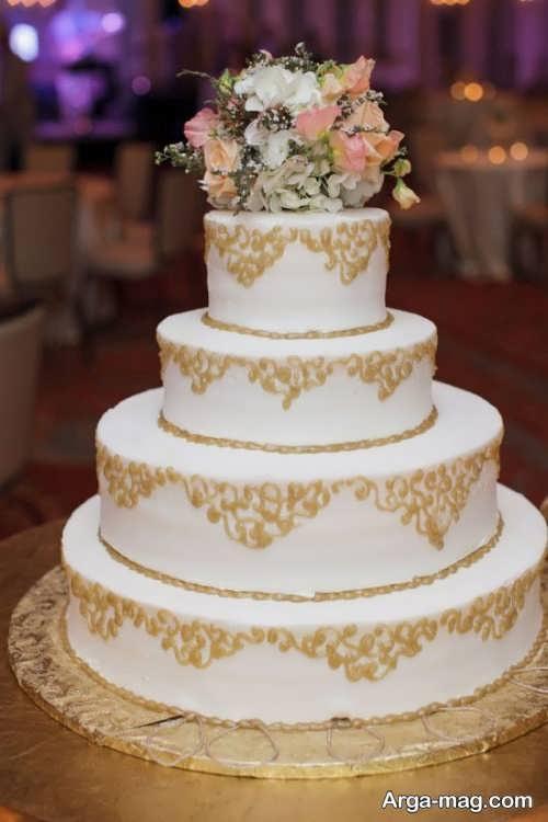تزیین شیک و جالب کیک عروسی