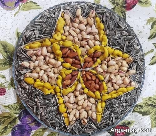 آجیل عید با تزیینات بی نظیر