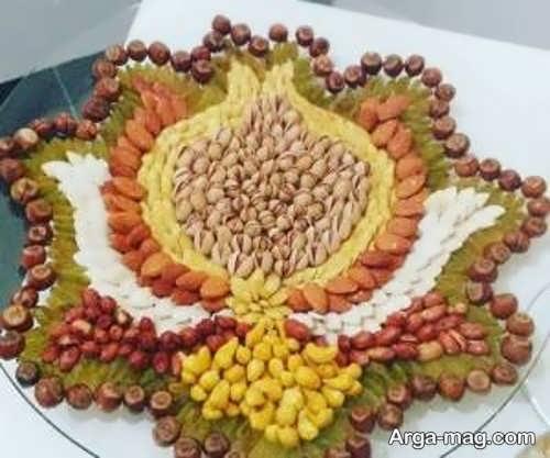 جدیدترین تزیین آجیل عید نوروز