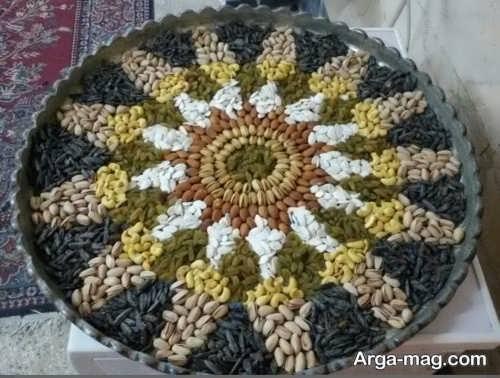 آجیل عید با تزیینات جدید