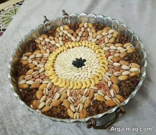 آجیل عید با تزیینات متفاوت