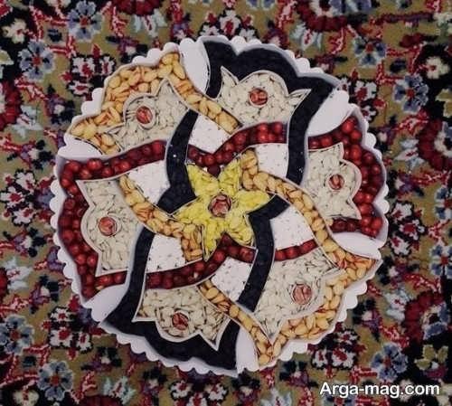 قشنگ ترین تزیین آجیل عید نوروز