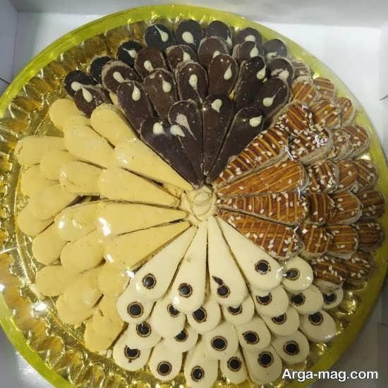 چیدمان شیرینی عید نوروز