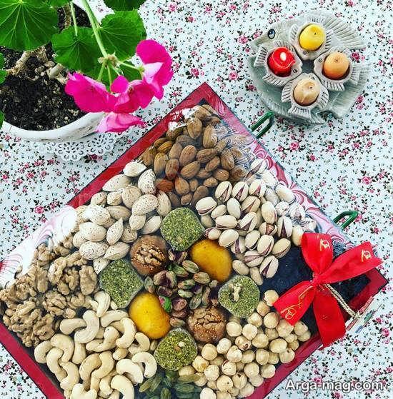 تزیینات میز پذیرایی عید نوروز با ایده های جذاب