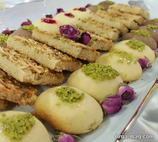 تزیینات شیرینی برای میز پذیرایی عید نوروز