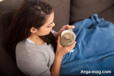 درمان سندروم پیش از قاعدگی با بادرنجبویه