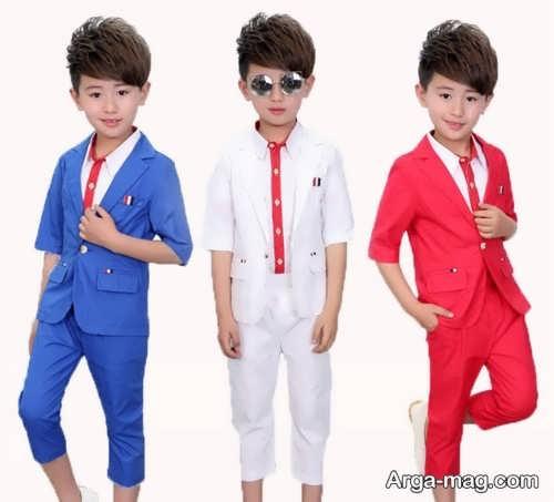 مدل لباس کودک پسرانه
