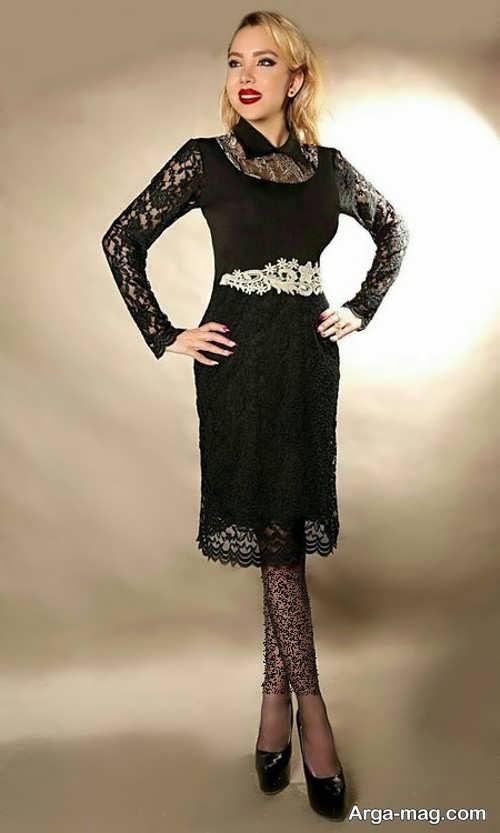 مدل لباس گیپور پوشیده