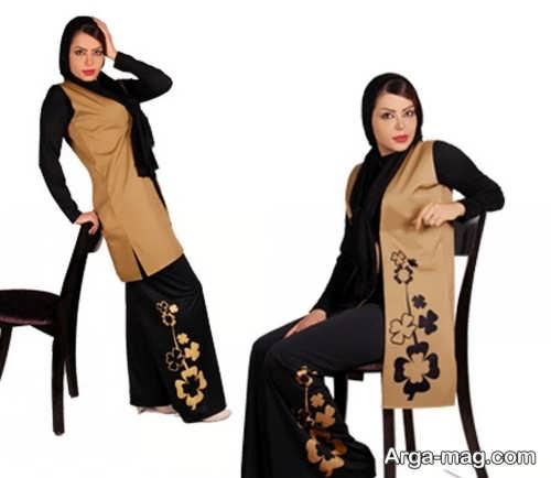 مدل لباس طرح دار برای عید