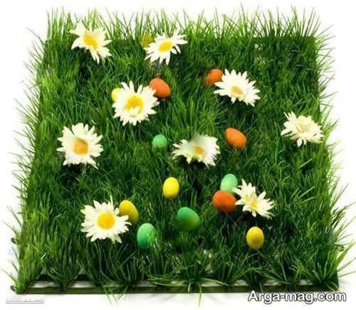 تزیینات سبزه برای عید نوروز