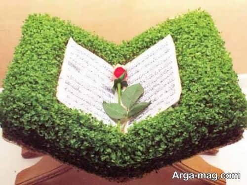 تزیین جالب سبزه برای عید نوروز