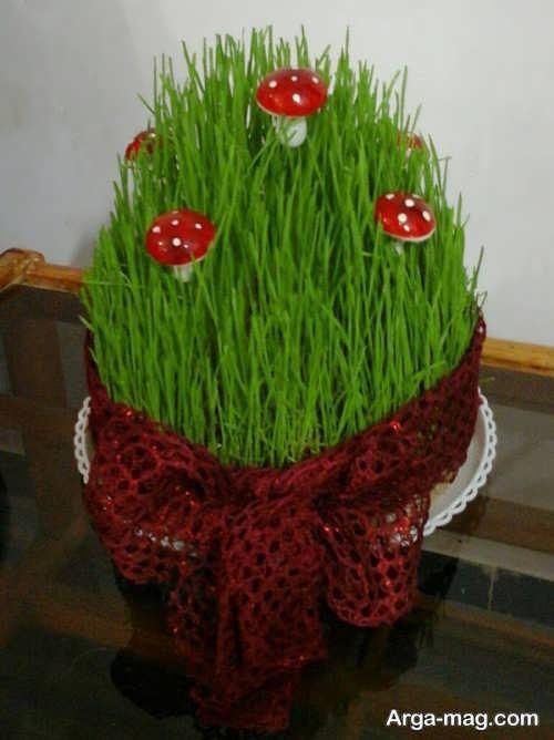 تزیین جالب و زیبا سبزه عید