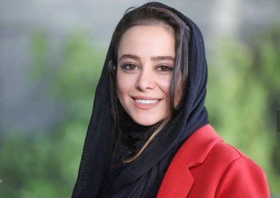 الناز حبیبی با پوشش جذاب