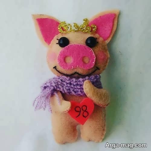 مدل عروسک خوک