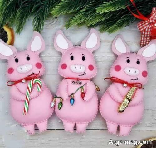 عروسک فانتزی و بامزه خوک