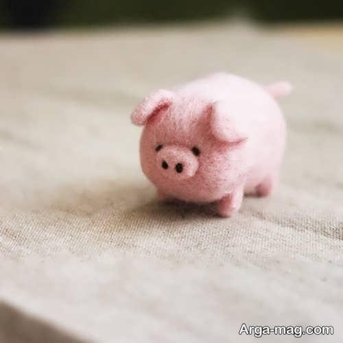 عروسک خوک برای سفره هفت سین سال 98