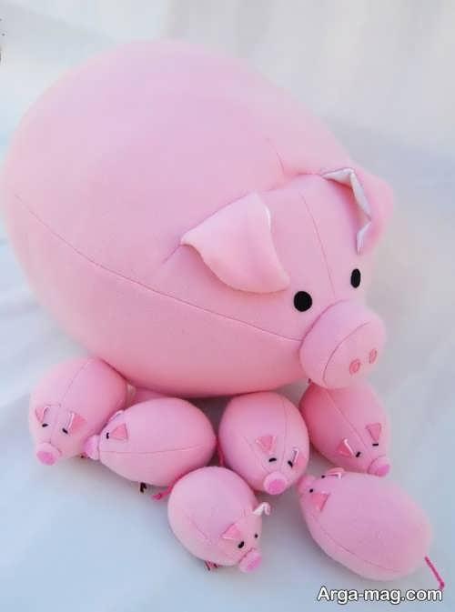 عروسک صورتی و فانتزی خوک