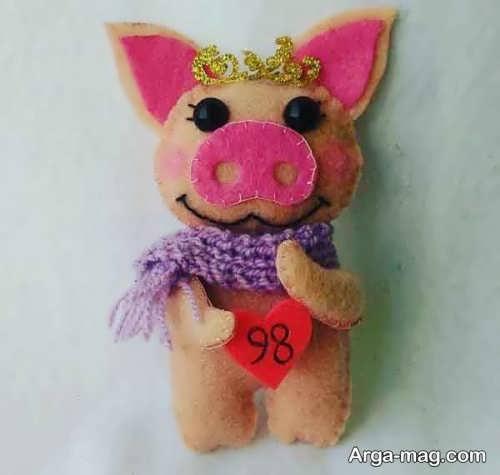 عروسک فانتزی و جالب خوک