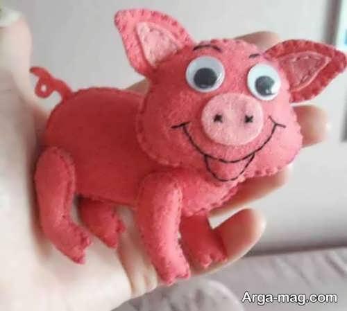 عروسک خوک جالب