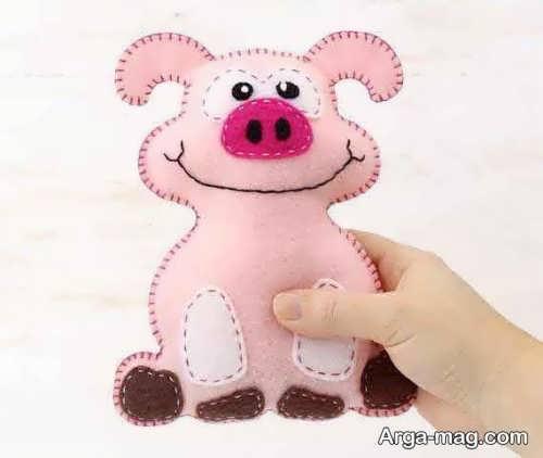 عروسک فانتزی و نمدی خوک