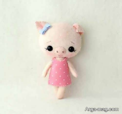 عروسک ساده خوک