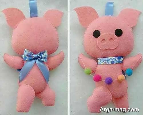 عروسک جالب خوک