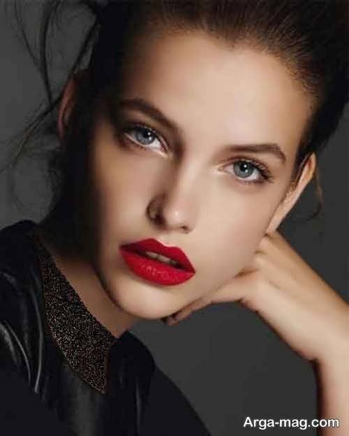 آرایش صورت زیبا و بی نظیر دخترانه