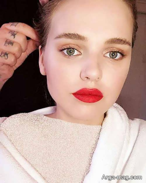 آرایش ملایم دخترانه 2019