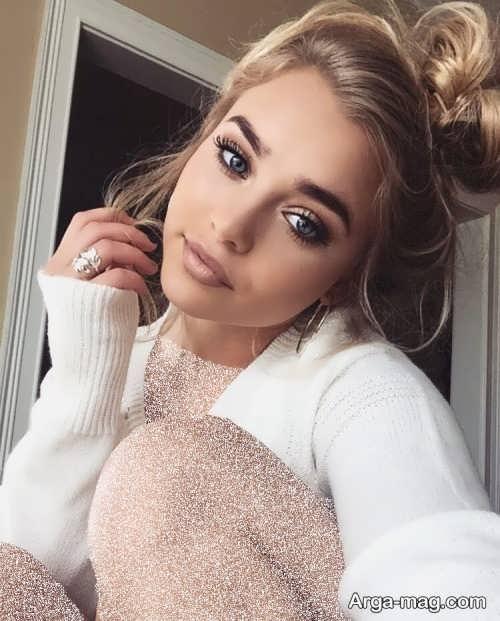 مدل میکاپ زیبا و شیک دخترانه