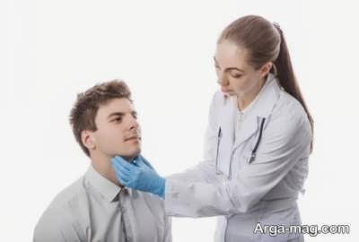 معاینات فیزیکی پرکاری تیروئید
