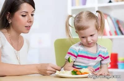 عادت های غذایی صحیح در کودکان