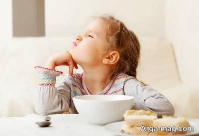 تغییر عادات غذایی کودک