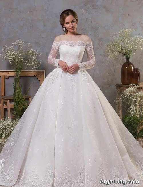 مدل لباس عروس شیک و ایتالیایی