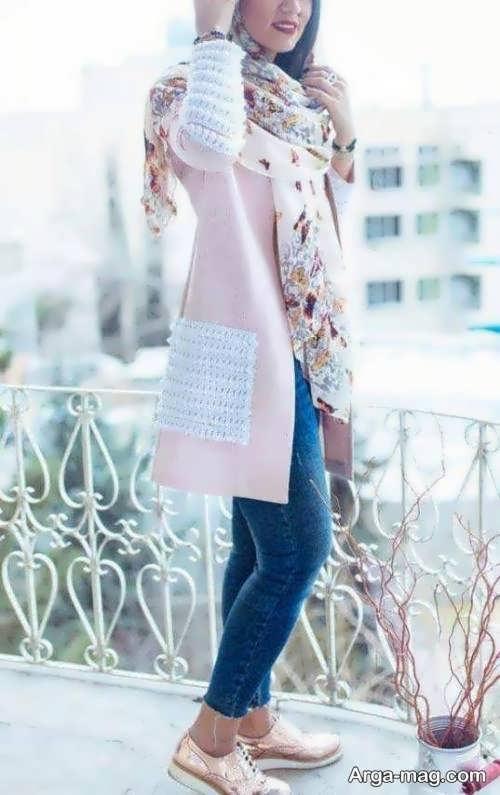 مدل مانتوی شیک و زیبا اسپرت