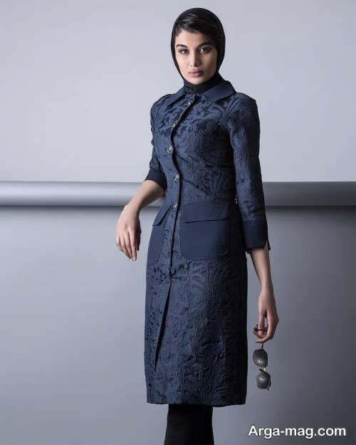مدل مانتو شیک و بلند اسپرت
