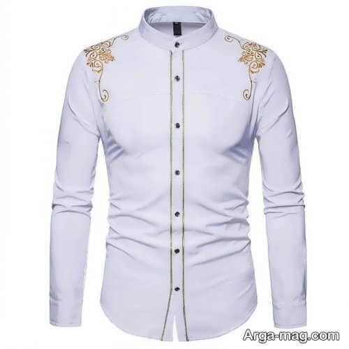 مدل پیراهن سفید مردانه