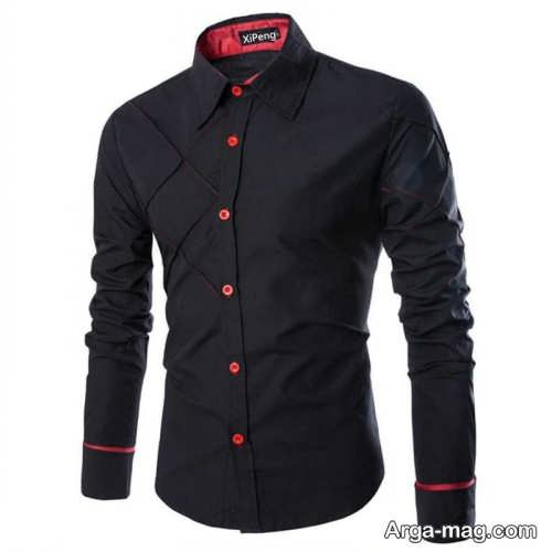 پیراهن ساده و شیک مردانه 98