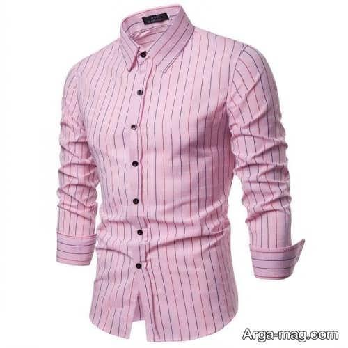 پیراهن طرح دار و شیک مردانه
