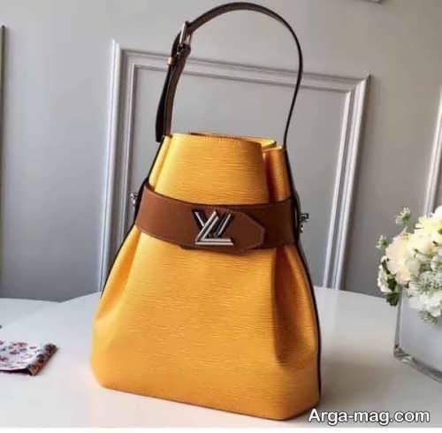 مدل کیف دو رنگ دخترانه