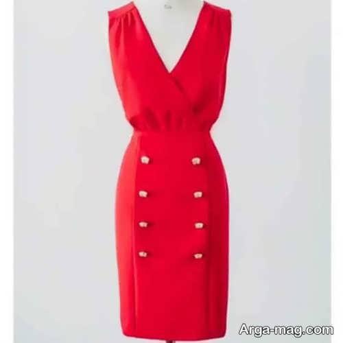 مدل سارافون قرمز زنانه