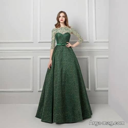 مدل لباس مجلسی دکلته زنانه