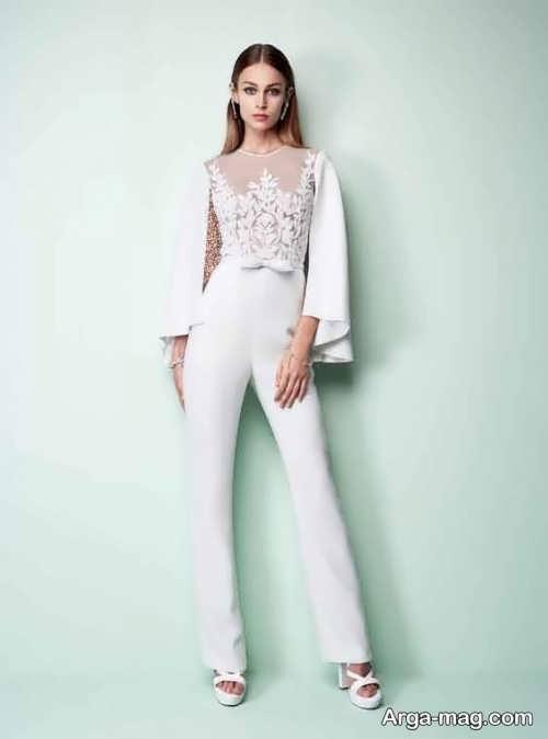 لباس سرهمی سفید