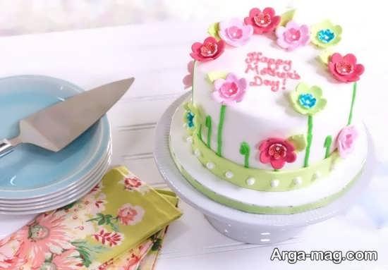 تزیین کیک برای روز مادر
