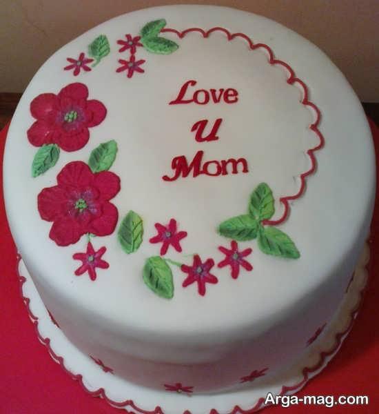 تزیین کیک روز زن و روز مادر