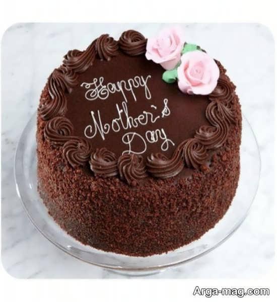 تزیین کیک با شکلات