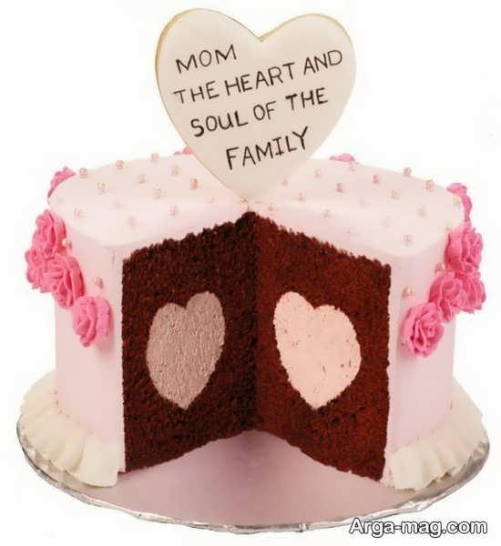 تزیین جالب کیک روز مادر