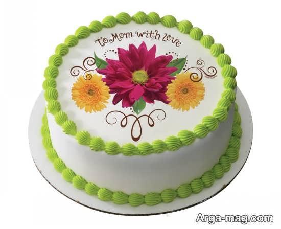 تزیین جالب کیک برای روز مادر