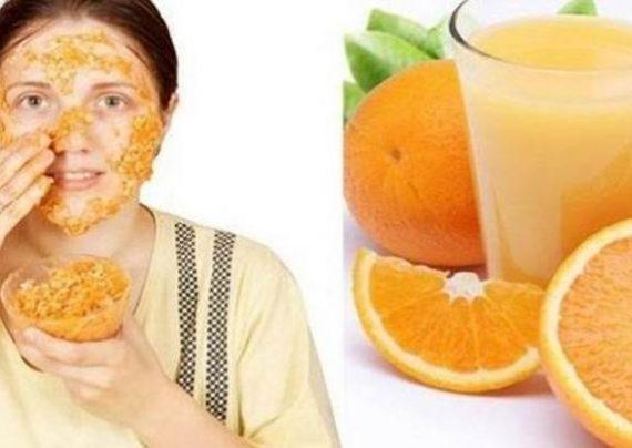 طرز تهیه ماسک طبیعی پرتقال